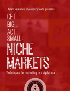 Niche Markets Cover Page